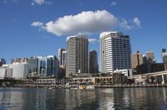 Australia Sydney Skyline. Darling Harbour skyline, Sydney, Australia Royalty Free Stock Photos