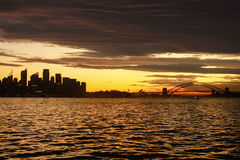 Australia Sydney Skyline Sunset. View Stock Images