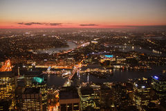 Australia Sydney Tower Eye Night. View Stock Images