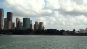 Australia, Sydney, vista del horizonte almacen de video