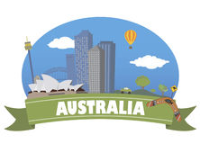 Australia. Tourism and travel Stock Photo