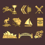Australia Traditional Elements Set. Vector Stock Photography