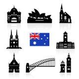 Australia Travel Landmarks. Royalty Free Stock Image