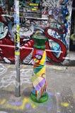 Australia, Victoria, Melbourne, Street Art foto de archivo libre de regalías