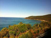 Australia. View from great ocean road royalty free stock photography