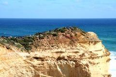 Australia view of Twelve Apostles. Rocks on the Big Ocean Road Stock Images