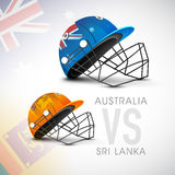 Australia VS Sri Lanka match of World Cup. Stock Photos