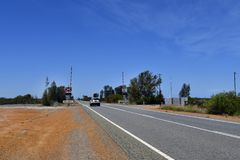 Australia, WA, autostrada, Obraz Royalty Free