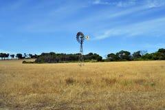 Australia, WA, rueda de viento foto de archivo
