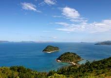 Australia, Whitsundays. South Molle Island. View towards Hamilton Island Royalty Free Stock Images