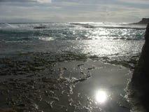 Australia widok na ocean słońce Obraz Stock