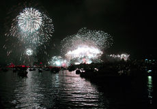 australia wigilię nowego roku Obrazy Royalty Free