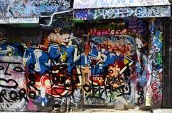 Australia, Wiktoria, Melbourne, graffiti Zdjęcie Stock