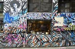 Australia, Wiktoria, Melbourne, graffiti Obrazy Stock