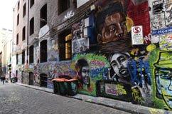 Australia, Wiktoria, Melbourne, graffiti Fotografia Royalty Free