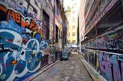 Australia, Wiktoria, Melbourne, graffiti Zdjęcie Royalty Free
