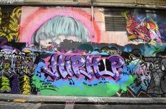 Australia, Wiktoria, Melbourne, graffiti Zdjęcia Royalty Free