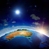 Australia y nuevo Zeland Fotos de archivo libres de regalías