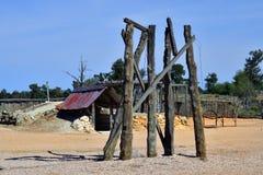 Free Australia, Zanci Homestead In Mungo National Park Stock Images - 111131944