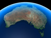 australia ziemi ilustracji