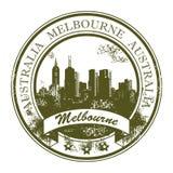 australia znaczek Melbourne Fotografia Royalty Free