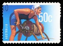 AUSTRALIA - znaczek pocztowy obrazy stock