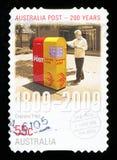AUSTRALIA - znaczek pocztowy zdjęcia stock