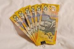 Australian #50.00 Stock Photo