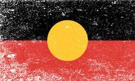 Free Australian Aboriginal Grunge Flag Royalty Free Stock Image - 117067106