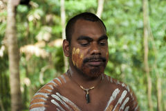 Australian Aborigine royalty free stock image