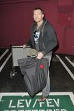 Australian actor Sam Worthington at LAX Stock Photography
