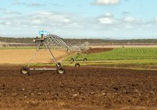 Australian agriculture rural irrigation Royalty Free Stock Photos