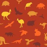 Australian animals pattern. Royalty Free Stock Photography