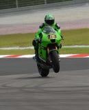 Australian Anthony West Kawasaki Racing 2007 Polin Royalty Free Stock Images