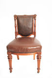 Australian antique curved Oak Chair Circa 1870 Royalty Free Stock Photo