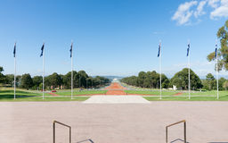 Australian Anzac Parade  Canberra Stock Image