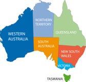 Australian areas Royalty Free Stock Photos