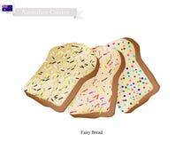 Australian, Australia, Aussie, Peach Melba, Melba, Peach, Ice Cream, Sundae, Food, Meal,. Australian Cuisine, Fairy Bread or Traditional Sliced Bread Decorated Royalty Free Stock Photo