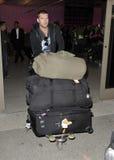 Australian Avatar actor Sam Worthington at LAX Royalty Free Stock Photography