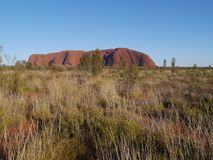 The Australian Ayers rock Stock Photo