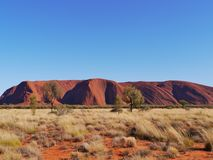 The Australian Ayers rock Royalty Free Stock Photography