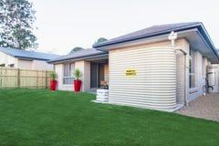 Australian backyard Stock Photography