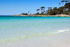 Australian Beach. Beach at Binalong Bay, Tasmania, Australia Royalty Free Stock Images