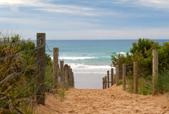 Australian beach Royalty Free Stock Photo