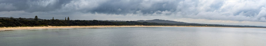 Australian beach coastline at 'Hat Head'. Coastline at 'Hat Head' - on the east coast of Australia Stock Photography