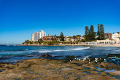 Australian beach, Cronulla Stock Images