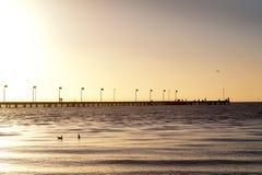 Australian beach - Frankston - Melbourne Royalty Free Stock Images