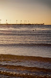 Australian beach - Frankston - Melbourne Royalty Free Stock Images