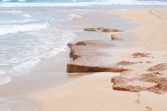 Australian beach. Beach near Port Lincoln South Royalty Free Stock Photo