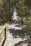 Australian Beach Path stock photography